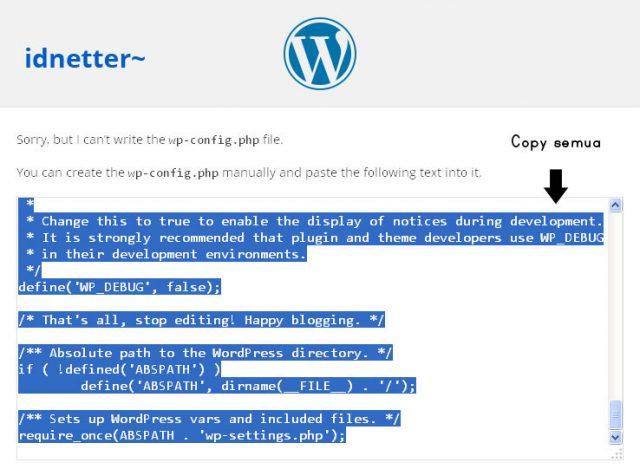 cara install wordpress nginx