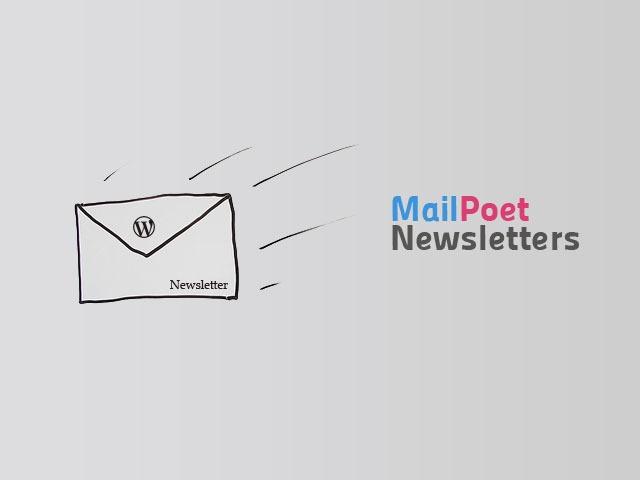 Plugin Newsletter Terbaik – MailPoet