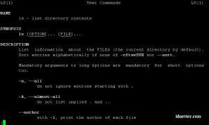 Panduan Command ls, Linux