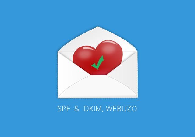 Cara setup SPF dan DKIM di Webuzo