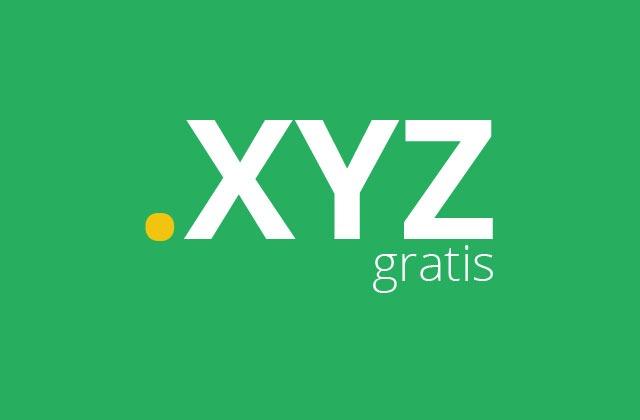 domain gratis .xyz