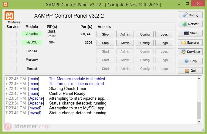 Cara Install XAMPP Windows
