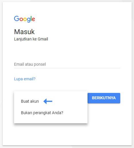 Cara membuat email gmail – Bagian 2