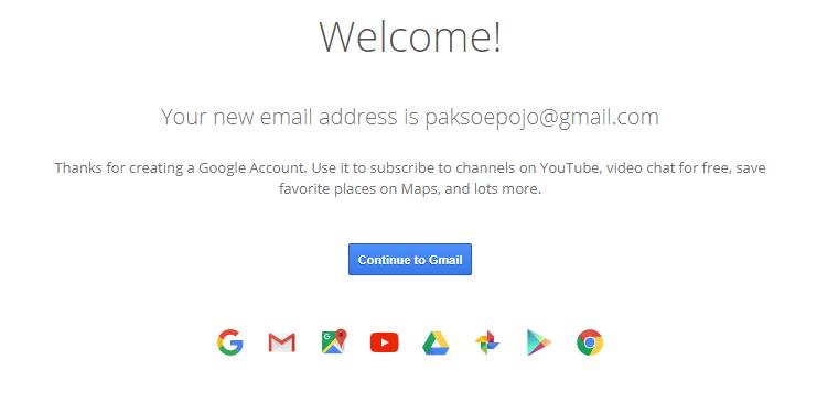 Cara membuat email gmail – Bagian 6