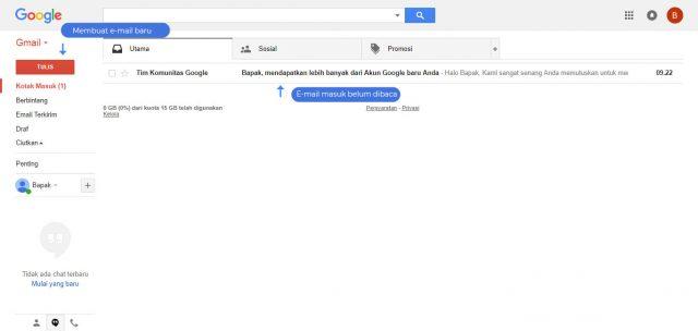 Cara mengelola email – 1