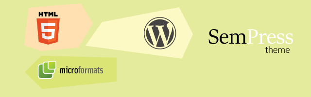 Ganti SemPress, Theme WordPress dengan Structured Data Schema