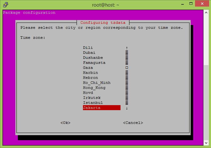 cara merubah zona waktu di linux ubuntu