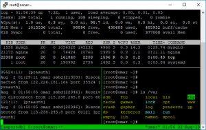 Cara menggunakan tmux (terminal multiplexer)