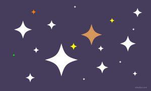Cara membuat vector kilau bintang di Illustrator