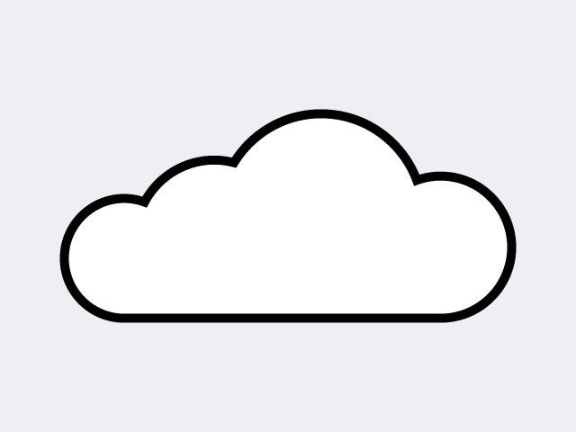 Cara membuat gambar awan di Illustrator